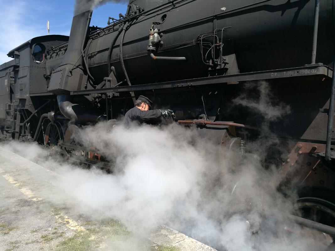 Crescere Girovagando_Treno a vapore_Asciano
