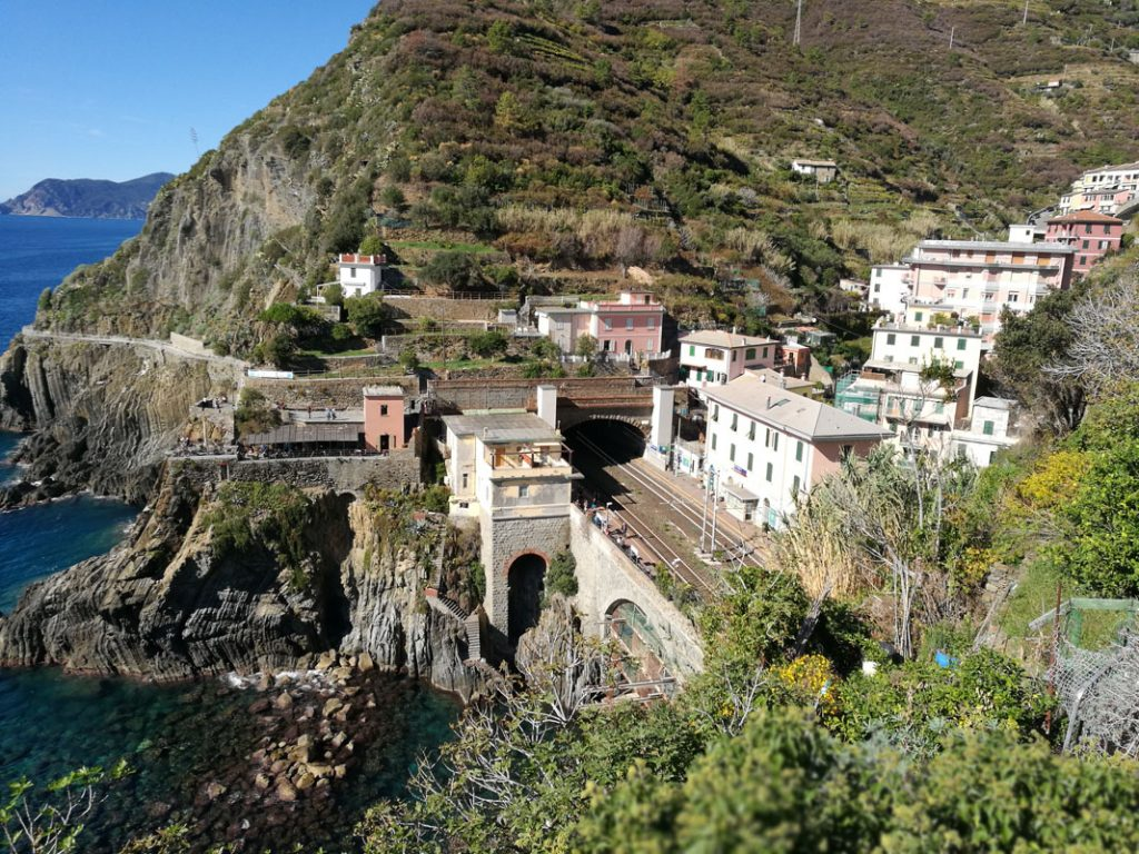 Weekend in Liguria_ treno