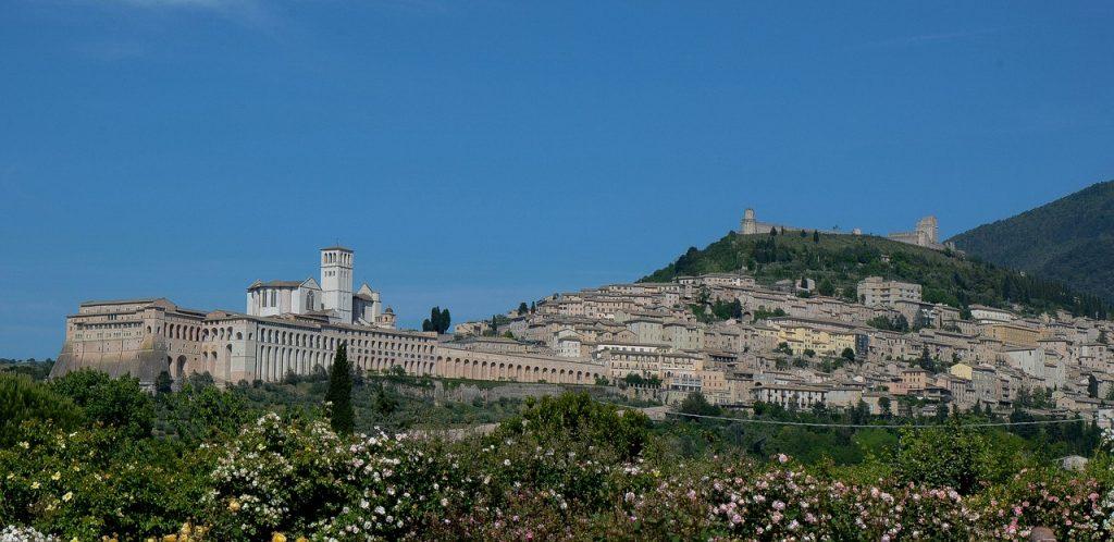 Assisi con bambini