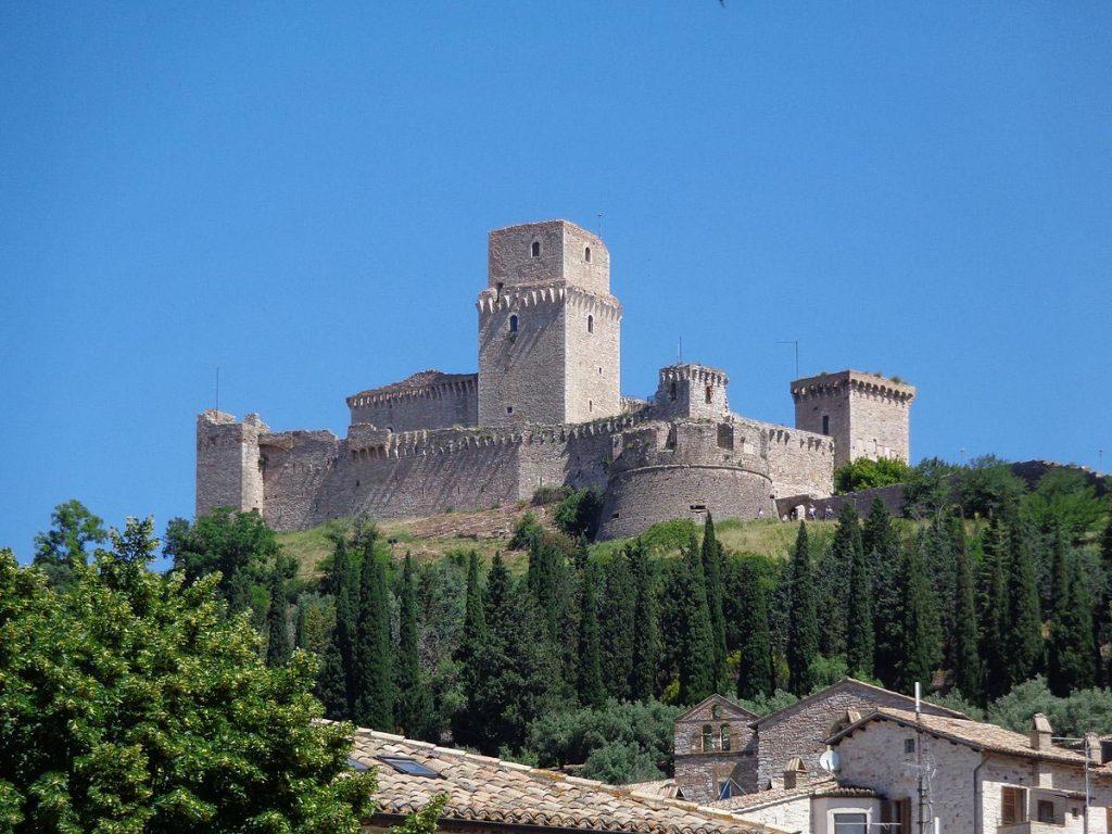 Assisi con bambini_Rocca Maggiore
