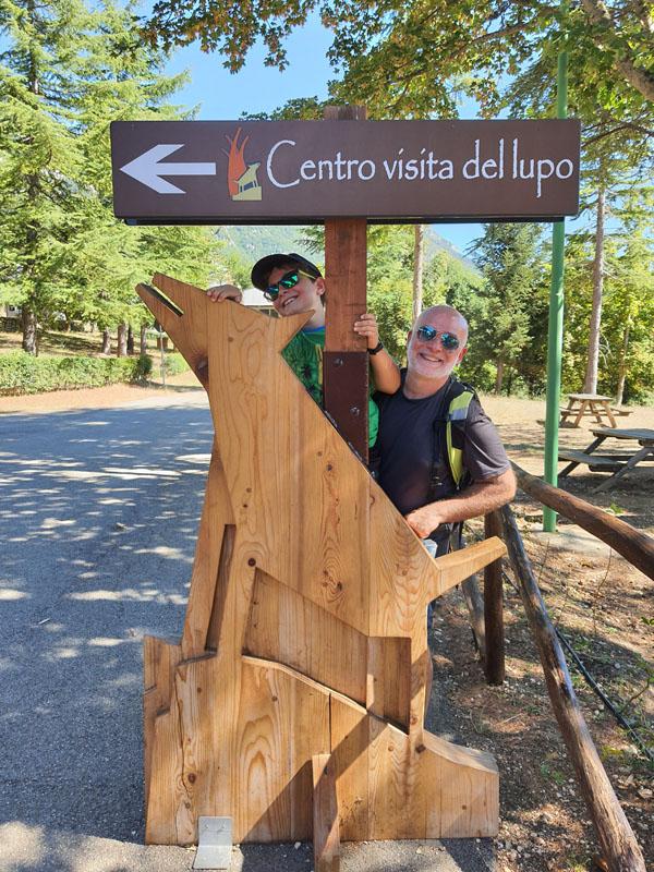 Abruzzo_centro visite del Lupo